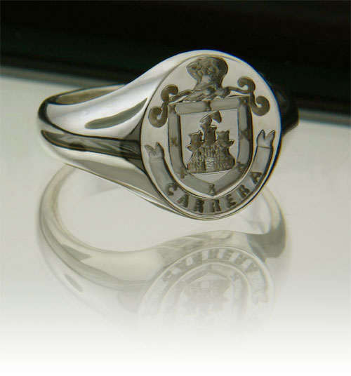 Coat Of Arms Signet Ring