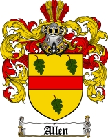 Allen Coat of Arms