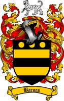 Barnes Family Crest