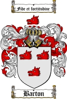 Barton Coat of Arms