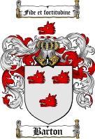 Barton Coat of Arms