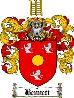 Bennett Family Crest