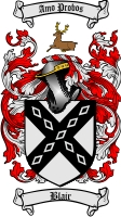 Blair Family Crest