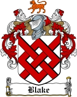 Blake Coat of Arms