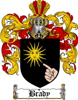 Brady Coat of Arms
