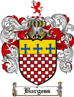 Burgess Family Crest