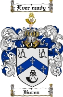 Burns Coat of Arms