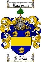 Burton Family Crest