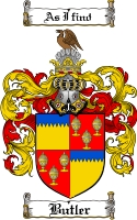 Butler Coat of Arms