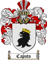 Caputo Coat of Arms