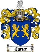 Carter Coat of Arms