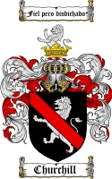 Churchill Family Crest