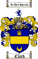 Clark Scottish Family Crest