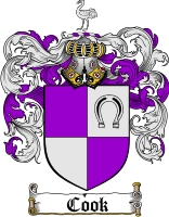 Cook Family Crest
