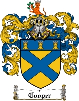Cooper Coat of Arms