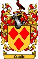 Costello Coat of Arms
