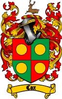 Cox Family Crest