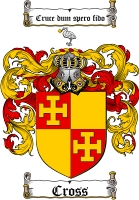 Cross Family Crest