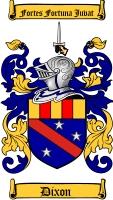 Dixon Family Crest