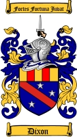 Dixon Coat of Arms