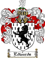 Edwards Welsh Family Crest