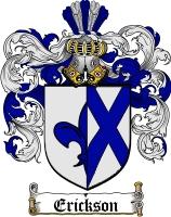 Erickson Coat of Arms