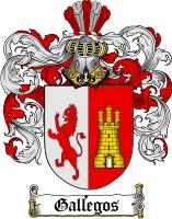 Gallegos Family Crest