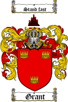 Grant Coat of Arms