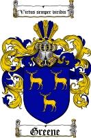 Greene Coat of Arms