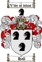 Hall Coat of Arms