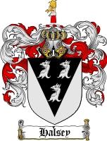Halsey Family Crest