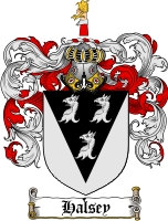 Halsey Coat of Arms