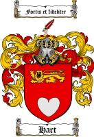 Hart Family Crest