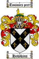 Hawkins Coat of Arms