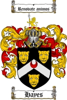 Hayes Family Crest
