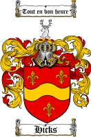 Hicks Coat of Arms