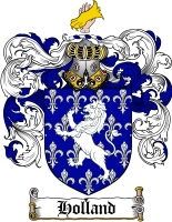 Holland Coat of Arms