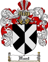 Hunt Coat of Arms