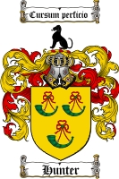 Hunter Family Crest
