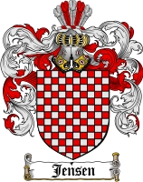 Jensen Coat of Arms