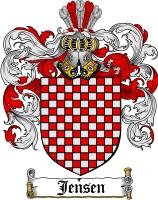 Jensen Coat of Arms