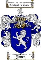 Jones Coat of Arms