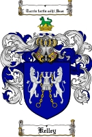 Kelley Family Crest