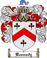 Kennedy Scottish Coat of Arms