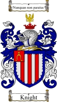Knight Family Crest