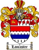 Lancaster Family Crest
