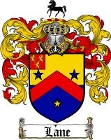 Lane Family Crest