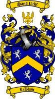 Leblanc Family Crest