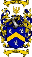 Leblanc Coat of Arms