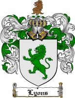 Lyons Coat of Arms